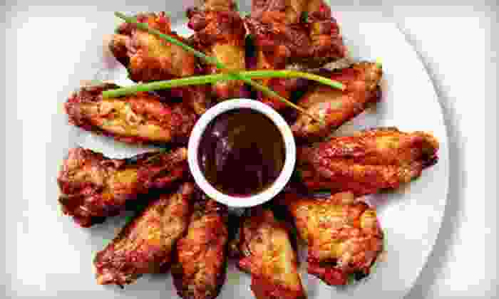 Bigham Tavern - Mount Washington: Wings, Sandwiches, and Pool for Two or Four at Bigham Tavern