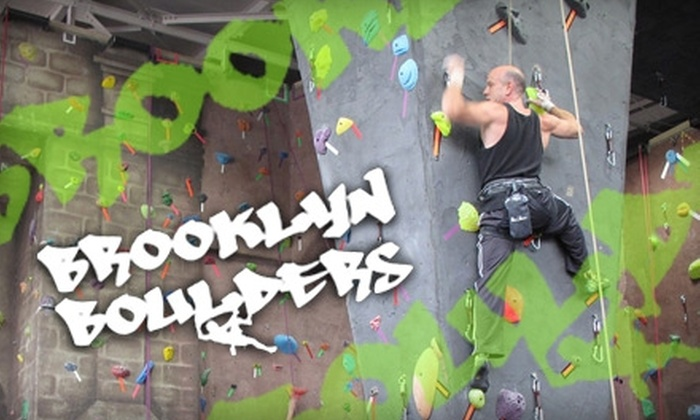 Brooklyn Boulders - Boerum Hill: $39 for a One-Month Membership and Introductory Class at Brooklyn Boulders