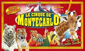 Le Cirque de Montecarlo a Nichelino, Torino : Le Cirque de Montecarlo - Dal 18 al 28 gennaio a Nichelino, Torino (sconto fino a 60%)
