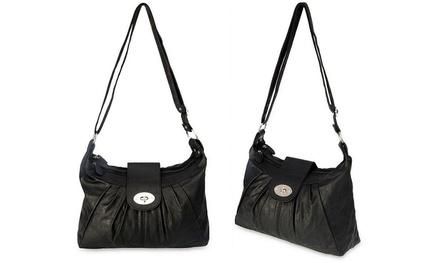 1 ou 2 sacs bandoulière en simili cuir