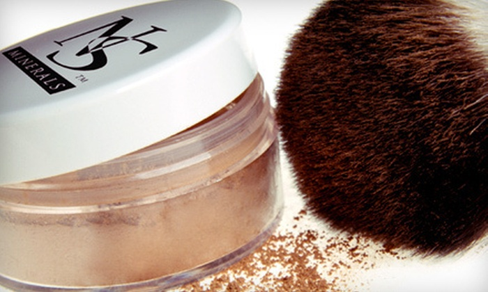 NS Minerals: Mineral Makeup and Accessories from NS Minerals (Up to 56% Off). Four Options Available.