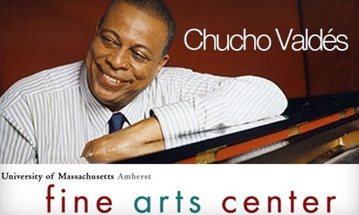 University of Massachusetts Amherst Fine Arts Center - Amherst: One Ticket to Chucho Valdés at the University of Massachusetts Amherst Fine Arts Center. Choose from Two Options.