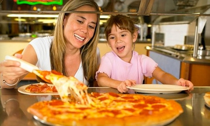 John's Incredible Pizza Co. - Buena Park: $19 for All-You-Can-Eat Buffet and $25 of Game Credit at John's Incredible Pizza Co. ($38.99 Value) in Buena Park