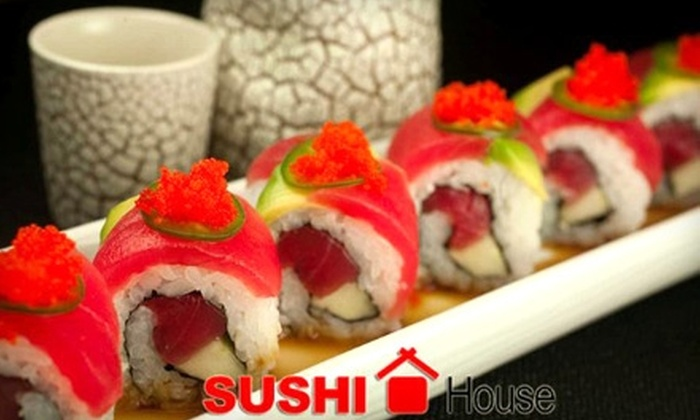 Sushi House Buckhead - Buckhead: $15 for $30 Worth of Fresh Sushi and Drinks at Sushi House Buckhead