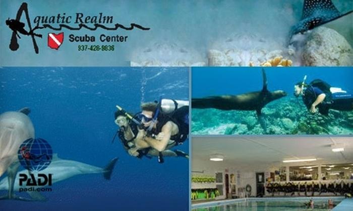 Aquatic Realm Scuba Center - Centerville: $10 for a Discover Scuba Program at Aquatic Realm Scuba Center ($30 Value)