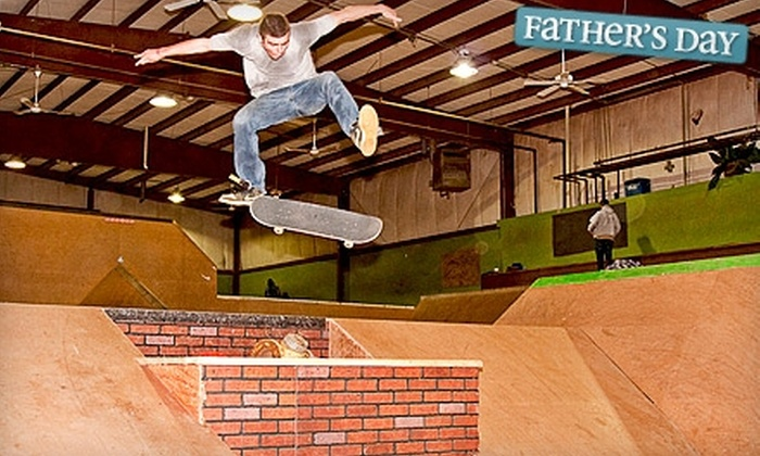 Greenside Skate Park - Middletown: All-Day Weekend Pass Plus Safety-Equipment Rental or Five-Day Summer Camp at Greenside Skate Park in Middletown