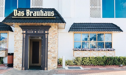 AED 150, 250 or 350 to Spend on Food and Drinks at Das Brauhaus, Al Ain Palace Hotel (Up to 52% Off)