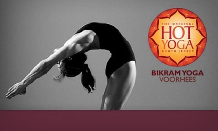 Bikram Yoga Voorhees - Gibbsboro: $30 for Three Classes at Bikram Yoga Voorhees ($60 Value)