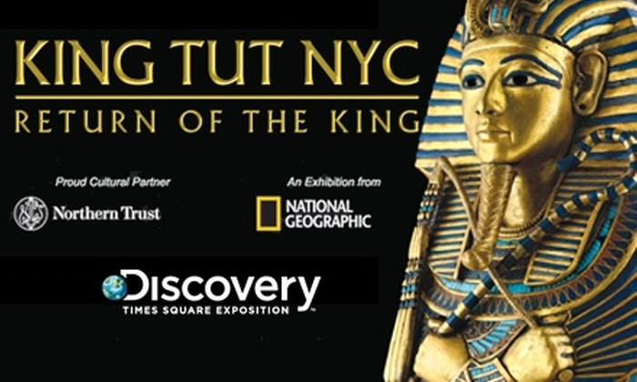 King Tut Exhibit  - Theater District - Times Square: $18 Ticket to the King Tut Exhibit ($33.21 Value)