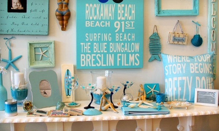The Blue Bungalow - Rockaway: $20 for $40 Worth of Jewelry, Art, and Accessories at The Blue Bungalow in Rockaway