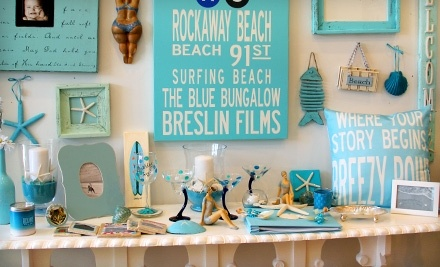 $40 Groupon to The Blue Bungalow - The Blue Bungalow in Rockaway