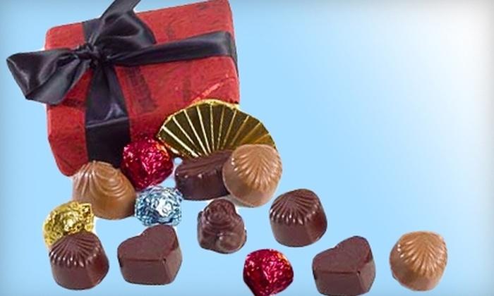Donnelly Chocolates - Santa Cruz: $10 for Four Sea-Salt Caramel Bars ($20 Value) or $12 for an Assorted-Chocolates Gift Box ($25 Value) at Donnelly Chocolates