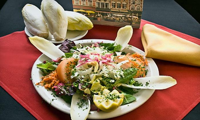 The Broken Spoke Cafe - Washington Ave./ Memorial Park: Belgian-American Dinner for Two or Four or Lunch Fare at The Broken Spoke Cafe. Four Options Available.