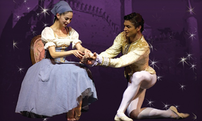 """""""Cinderella"""" presented by Carolina Ballet - Multiple Locations: Two or Four Tickets to the Carolina Ballet's """"Cinderella"""" at Progress Energy Center. 10 Options Available."""