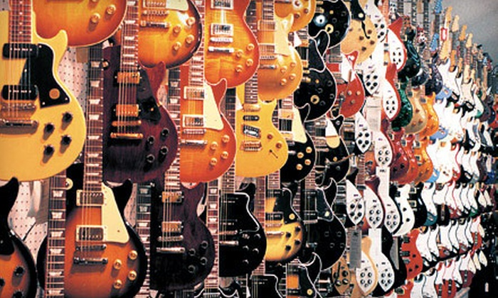 Guitar Center - Multiple Locations: $25 for $50 Worth of Musical Equipment In-Store or Online from Guitar Center