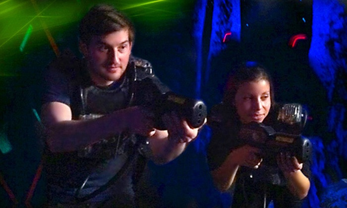 Long Island's Laser Bounce - Levittown: Fun-Center Package at Long Island's Laser Bounce in Levittown (Half Off). Two Options Available.