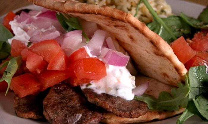 Legacy Gyros - Omaha: $10 for $20 Worth of Greek Fare at Legacy Gyros
