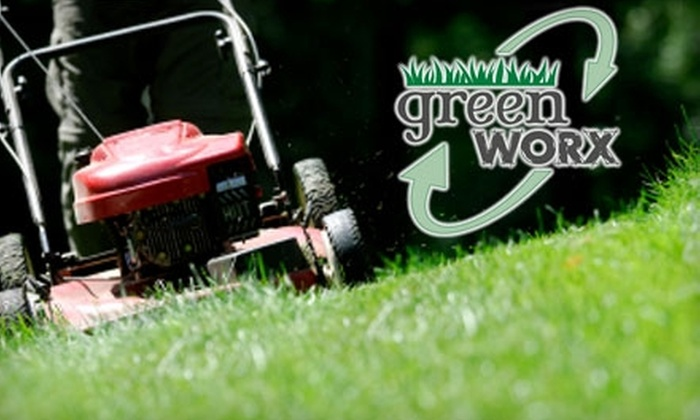 GreenWorx Landscaping & Outdoor Projects - Piedmont Triad: $29 for Two Lawn Cuts or One Leaf Removal from GreenWorx Landscaping & Outdoor Projects (Up to $80 Value)