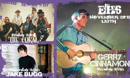 EH6 Festival with The Coral and Jake Bugg