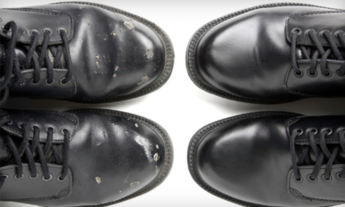 Beehive Shoeworks - Multiple Locations: $25 for $50 Worth of Custom Shoe, Leather, and Luggage Repair at Beehive Shoeworks