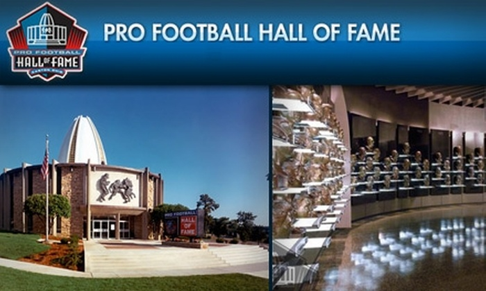 Pro Football Hall of Fame - Canton: $10 for One Regular Adult Admission to the Pro Football Hall of Fame ($20 Value)