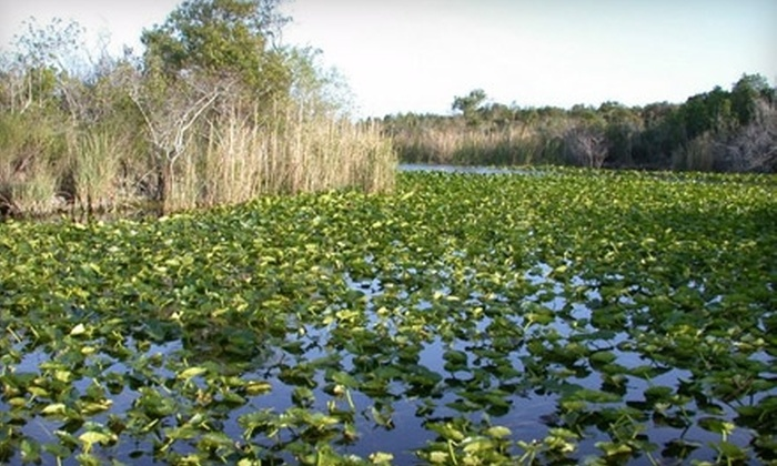 Everglades Holiday Park - Southwest Ranches: $37 for a Five-Hour Boat Rental from Everglades Holiday Park ($75 value)