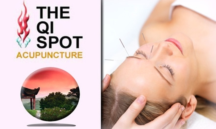 The Qi Spot Acupuncture Clinic - Downtown: $29 Acupuncture Treatment and Foot Massage at The Qi Spot Acupuncture Clinic ($85 Value)