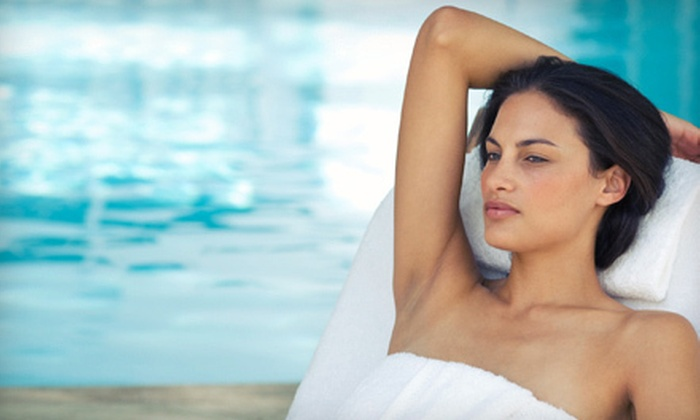 CZ Day Spa and Fitness Center - CZ Day Spa and Fitness Center: $75 for Spa Package with Massage, Sauna Session, Facial, and Nail Service at CZ Day Spa and Fitness Center ($150 Value)