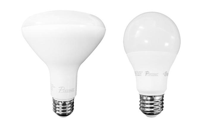 Pursonic Energy Saving LED Light Bulbs (10-Pack)