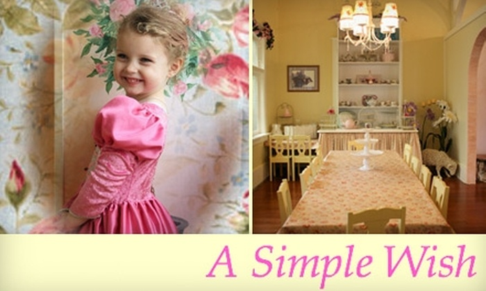 A Simple Wish - Puyallup: Princess Photo or Party Experience from A Simple Wish. Choose from Two Options.