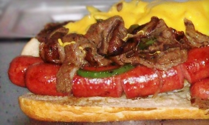The DawgFather Grill - Phoenix: $5 for $10 Worth of Hot Dogs, Burgers, and Thirst Quenchers at The DawgFather Grill
