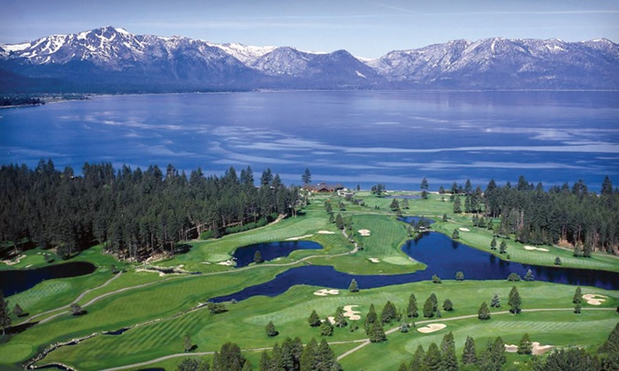 Harrah's Lake Tahoe - Stateline: Two-Night Stay for Two in a Luxury Room with Health Club Access and Slot Play at Harrah's Lake Tahoe in Nevada