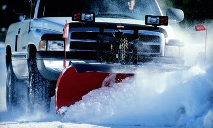 Expo Landscaping - Byron: $35 for Two Snow Removals from Expo Landscaping in Byron Center ($70 Value)
