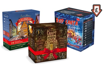Beer Advent Calendar with 24 Beers and a Glass from £38.99 With Free Delivery