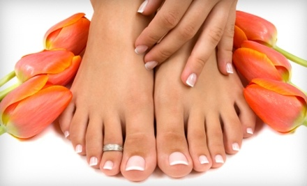 My Dream Nail: 1 Deluxe Mani-Pedi and Paraffin-Wax Deluxe Hand-and-Foot Treatment - My Dream Nail in Toronto