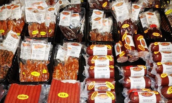 Beef Jerky Outlet - Concord Mills: $10 for $20 Worth of Jerky, Hot Sauce, and More at Beef Jerky Outlet in Concord