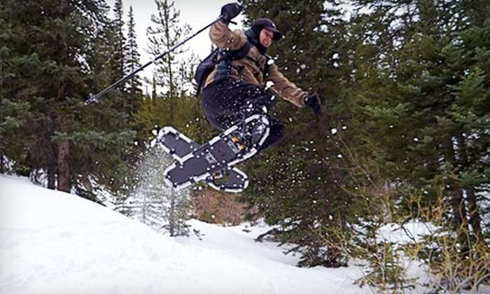 Outer Edge Performance - North Denver,Highland: $45 for a Half-Day Intro to Snowshoeing Outing from Outer Edge Performance ($110 Value)