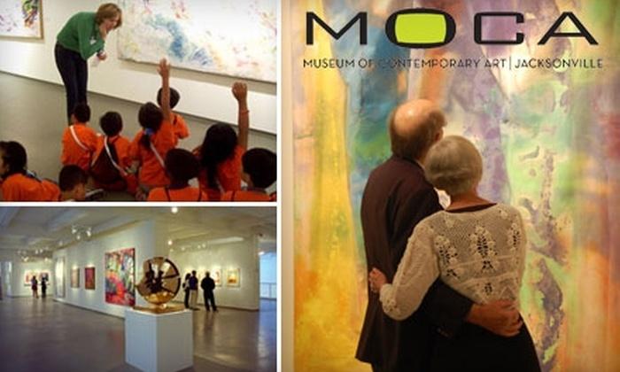 Museum of Contemporary Art Jacksonville - Downtown Jacksonville: Membership to the Museum of Contemporary Art Jacksonville. Choose Between Two Options.