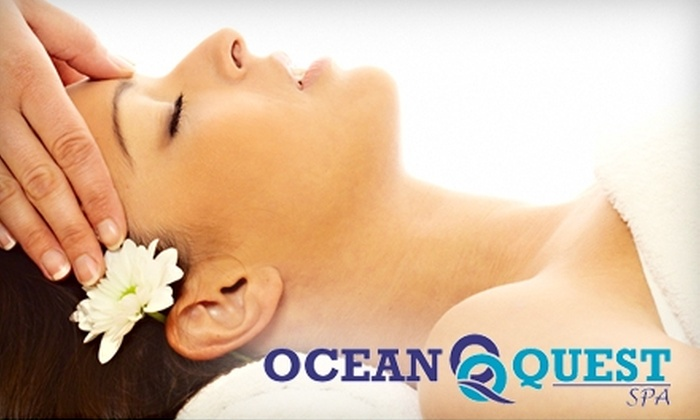 Ocean Quest Spa - St John's: $40 for a Hot-Stone Massage ($85 Value) or $44 for a Hydrating Mani-Pedi ($88 Value) at Ocean Quest Spa