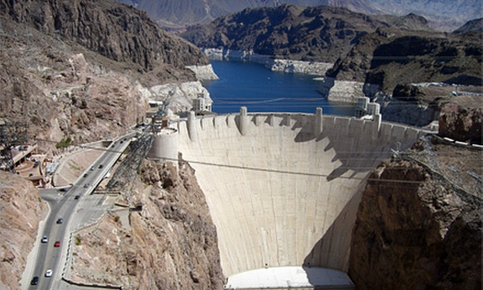 Quality Tours of Las Vegas - The Strip: Hoover Dam and Red Rock Canyon Tour for One, Two, or Four from Quality Tours of Las Vegas (Up to 71% Off)