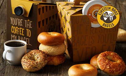 image for $15 eGift Card and $5 Bonus Card to Einstein Bros. Bagels (25% Off)