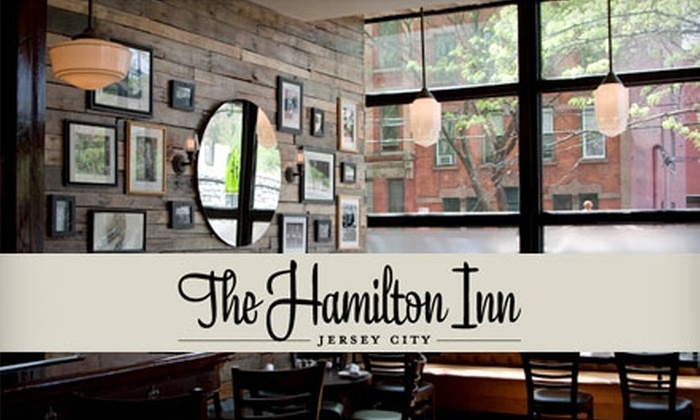 The Hamilton Inn - Historic Downtown: $15 for $30 Worth of Eclectic Comfort Fare and Drinks at The Hamilton Inn in Jersey City