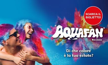 Promozione Esperienze Groupon.it Aquafan, Riccione