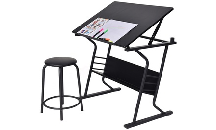 Drawing Art Tilt Top Table