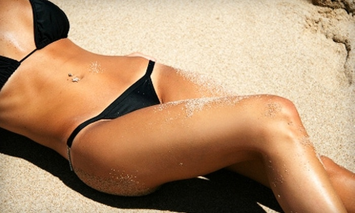 Beaches Tanning Center - Multiple Locations: $25 for Three Spray-Tanning Sessions ($72 Value) or $72 Worth of UV Tanning at Beaches Tanning Center