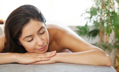 image for Aromatherapy <strong>Massage</strong> with Warming Coconut Oil or Detox <strong>Body</strong> Wrap at Sterling Healing Path (Up to 72% Off) 99