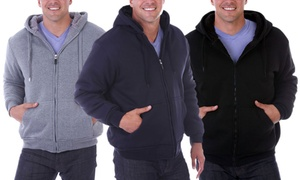 Oscar Sports Sherpa Lined Hoodie - Up to Size 5X