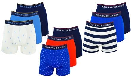 Pack de 3 boxers de la marque Ralph Lauren pour homme