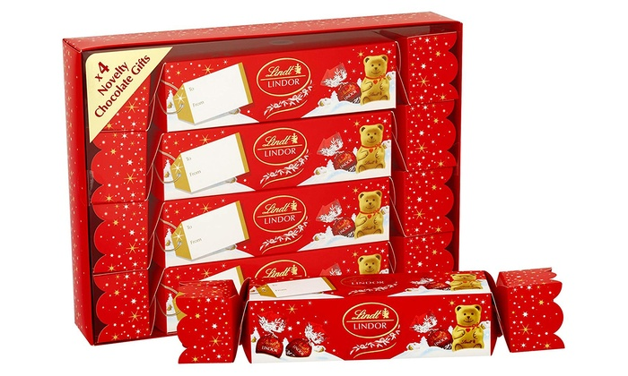 Up To 3 Off Lindt Christmas Crackers Set Groupon