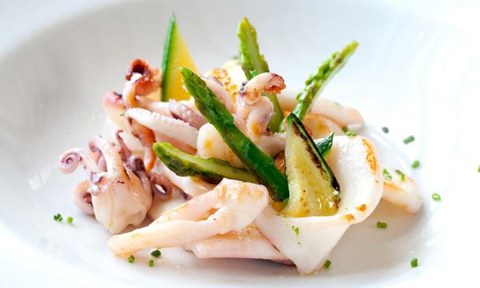 IL VELIERO - O SCUGNIZZO NAMMURATO: Menu di pesce di 4 portate con dolce e litro di vino da Il Veliero al Lido di Ostia (sconto fino a 58%)